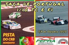 TAÇA DE PORTUGAL  1/10 TC, STOCK, Modificados e F1