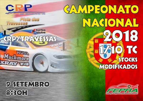 5º Prova do CN 1/10 TC Stock e Modificados