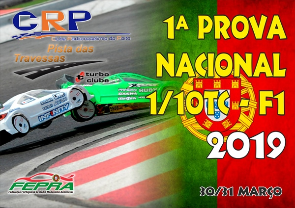1ª Prova do CN 1/10 TC Stock/modificados e F1